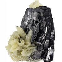 Ferberite & Calcite