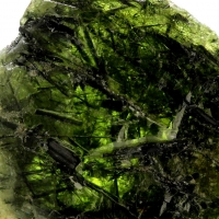 Titanite With Actinolite