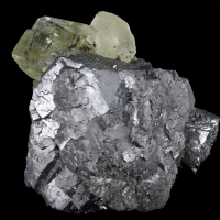 Galena Fluorite & Calcite