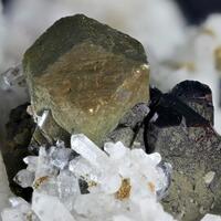 Pyrite Sphalerite & Quartz
