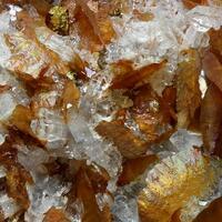 Siderite & Quartz With Chalcopyrite