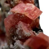 Rhodochrosite Fluorapatite & Quartz
