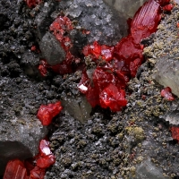 Realgar Arsenopyrite & Native Arsenic