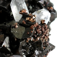 Siderite Pyrite & Quartz