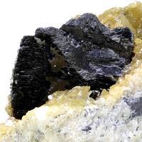 Wolframite & Calcite
