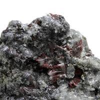 Native Antimony & Kermesite