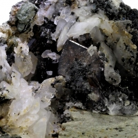 Axinite & Calcite