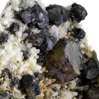 Sphalerite Galena & Pyrite With Quartz