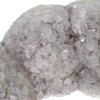Quartz & Calcite On Siderite