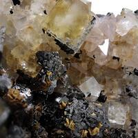 Fluorite Sphalerite & Quartz