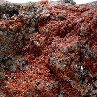 Cassiterite & Lepidocrocite