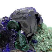 Azurite Malachite & Cuprian Adamite