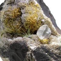 Millerite Galena & Quartz