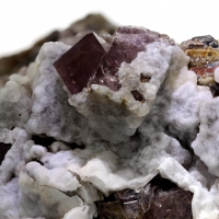 Fluorite Calcite & Aragonite