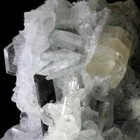 Apatite & Tantalite-(Mn) With Albite