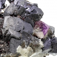 Galena Sphalerite Fluorite & Quartz