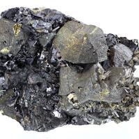 Chalcopyrite Pyrite Sphalerite & Quartz