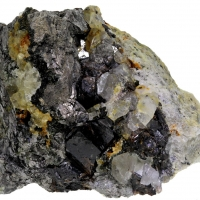 Cassiterite & Arsenopyrite
