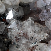 Quartz & Specularite On Hematite