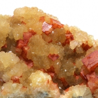 Stilbite On Chabazite