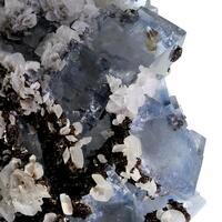 Fluorite Siderite & Calcite