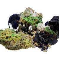 Azurite Cerussite & Arsentsumebite