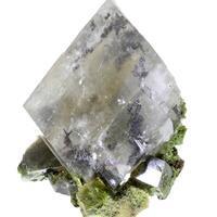 Calcite With Mottramite Inclusions