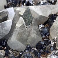 Calcite Pyrite & Sphalerite