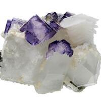 Fluorite Calcite & Quartz