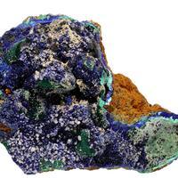 Azurite Malachite Cerussite & Mimetite