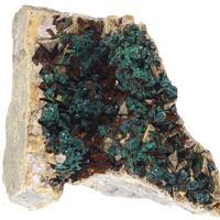 Malachite Psm Chalcopyrite & Dolomite