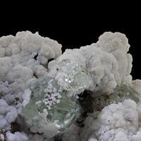 Fluorite & Calcite With Sphalerite & Galena