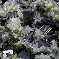 Galena Sphalerite Chalcopyrite & Quartz