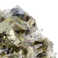Scheelite Chalcopyrite Quartz & Calcite