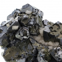 Galena With Chalcopyrite