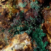 Chalcosiderite & Libethenite