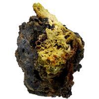 Corkite On Hinsdalite Psm Pyromorphite