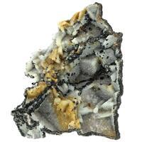 Quartz Psm Fluorite With Sphalerite
