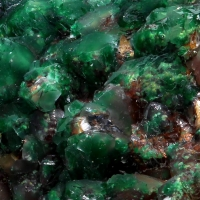 Calcite Malachite & Dolomite
