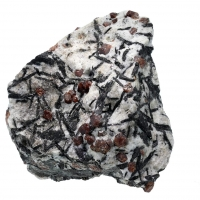 Almandine With Hornblende