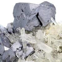 Galena & Quartz With Pyrite