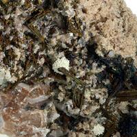 Chalcopyrite Baryte & Calcite