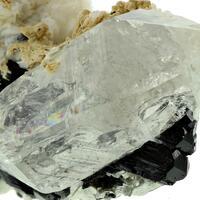 Schorl With Cleavelandite Muscovite & Quartz