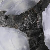 Calcite & Fizélyite