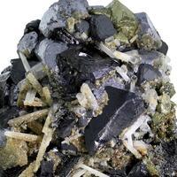 Chalcopyrite Galena Sphalerite & Quartz With Siderite