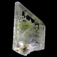 Gypsum With Native Sulphur Inclusions
