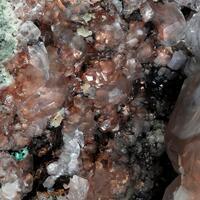 Native Copper & Calcite