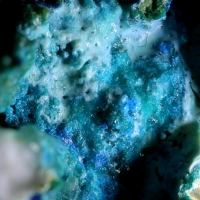 Chrysocolla With Linarite & Brochantite