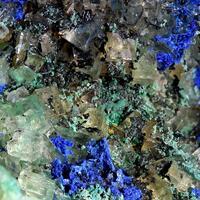 Azurite Malachite & Fluorite