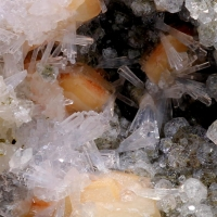 Gmelinite Natrolite & Analcime